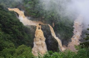 Magod Falls in South India