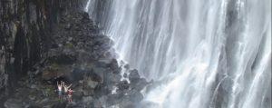 Thalaiyar falls in South India