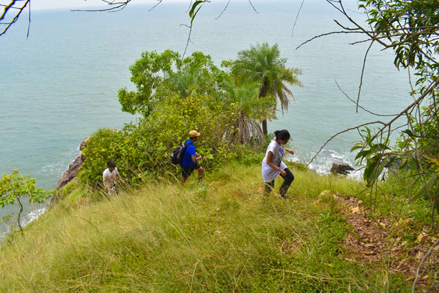 Trekking at Gokarna