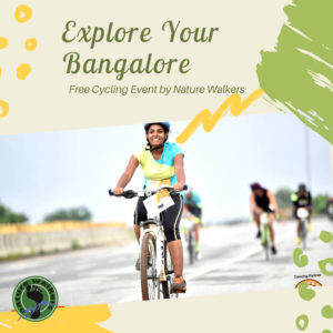 Explore Your Bangalore- Cycling Event