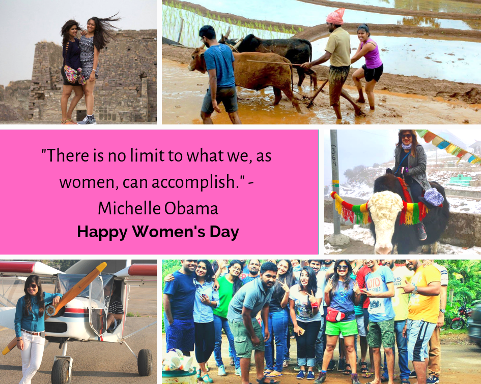 Happy Women's Day - Nature Walkers