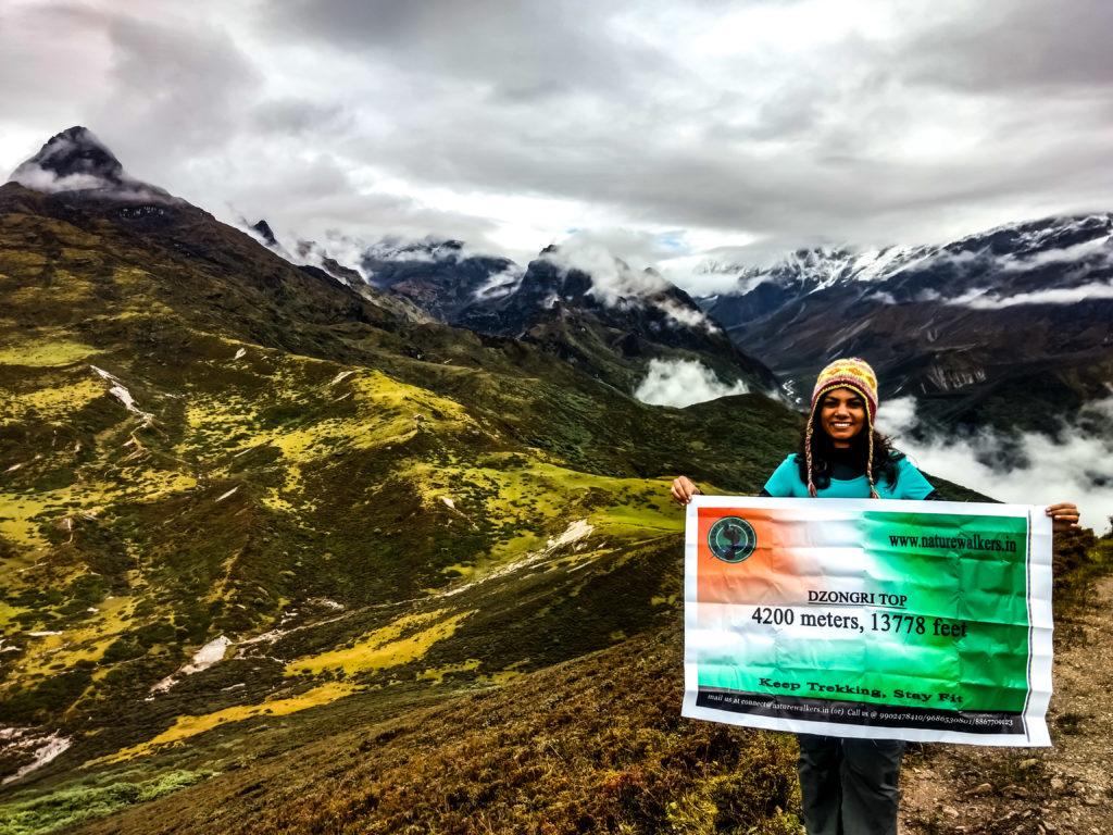 Dzongri Trek   Yuksom to Dzongri Trekking in Sikkim